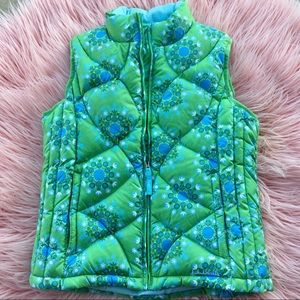 girls • l.l. bean • goose down insulated • vest